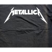 Metallica Logo Men's T- Shirt Black tee