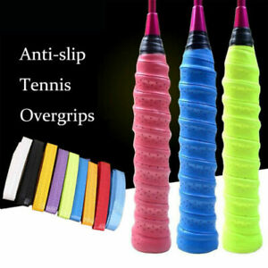 5 Color Anti-slip Racket Grip Badminton Sweatband Outdoor Tennis Tape Hand Grips