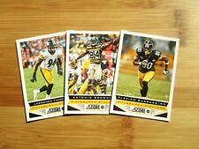 2013 Score Pittsburgh Steelers TEAM SET w/ SP's Le'Veon Bell ROOKIE