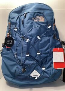 The North Face Borealis Back Pack - Turquoise/Rose Gold