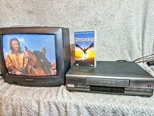 Vintage Retro Ferguson (JVC) Video Cassette Tape Recorder FV401LV fully working