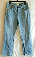 Levi Strauss Signature Jeans Misses 10 Short Women Stretch Mid Rise Boot Cut