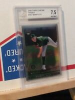 2000 Topps Chrome Traded Barry Zito Rookie BGS Grade 7.5 Oakland A's #T67 Card