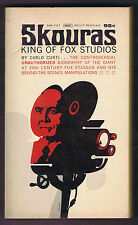 SKOURAS KING OF FOX STUDIOS by Carlo Curti - 1967 1st Printing - VG