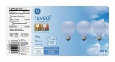Ge Reveal Decorative Bulb 40 W 250 Lumens G25 Med Base Frosted 2550 K Boxed