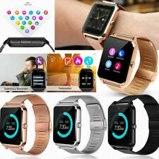 """1.54"""" Z60 Smart Watch Bluetooth Camera GSM SIM Card Phone Mate For Android IOS"""