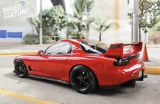 Carbon Fiber FEED Style Side Skirt Extensions To Fit RX7 FD3s And AP1/AP2 S2000