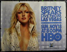 BRITNEY SPEARS 2001 46X60 HBO SUBWAY POSTER