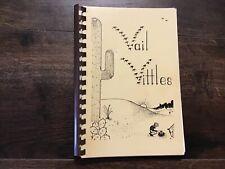 1981 Vail School Cookbook Vail, Arizona