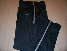 NIKE DRI-FIT GRAY W/GRAY STRIPE ATHLETIC PANTS BOYS XL 18-20 EXCELLENT CONDITION