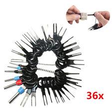 36 Stücke Motorrad Terminal Steckverbinder Ausbau Werkzeug Kabel Pol Demontage