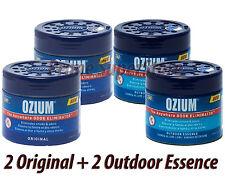 OZIUM Outdoor Essence/ Original Smoke/Odor Eliminator Air Freshener Car Home Gel