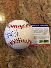 Sonny Gray Autographed Romlb SS Ball W/Coa New York Yankees
