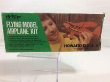 """Vintage Hi Flier Flying Model Airplane Kit Howard DGA 8 16 1/2"""" Wingspan"""