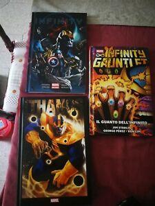 Lotto Marvel Infinity Gauntlet Io Sono Thanos Infinity Libri