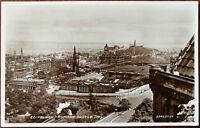 Edinburgh from the castle Postcard