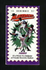High Desert Mavericks--1997 Pocket Schedule--Daily Press--Diamondbacks Affiliate