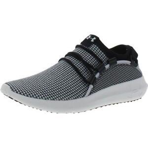 Under Armour Womens Railfit TXT B/W Athletic Shoes 8.5 Medium (B,M) BHFO 4154