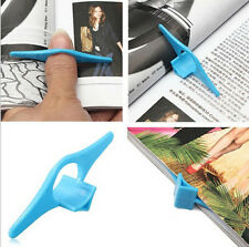2Pcs Multifunction Thumb Thing Book Page Holder Convenient Bookmark Markers Tool