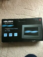Bush Digital Photo Frame 7 Inch - Black BNIB