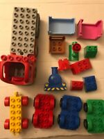 LEGO Duplo Car Spiderman Truck Train Replacement Parts Pieces Lot