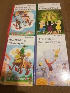 ENID BLYTON books 4 Faraway tree Enchanted Wood Wishing Chair