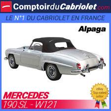 Capote Mercedes 190 SL W121 cabriolet (1955 - 1967) - Toile Alpaga Sonnenland