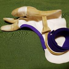 kyudoh Archery yugake ML size With hanging bag Japan Traditional Sports beige