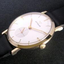 Mens Original 1963 Longines Wittnauer 14K SOLID GOLD Vintage 17j Swiss Watch  A+