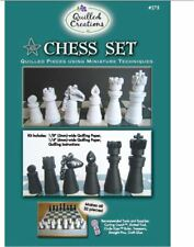 Quilled Creations Miniature's Paper Quilling Kit   CHESS SET  Fun Novelty  ~ 275