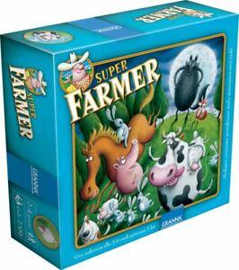 gra planszowa Super Farmer De Lux SUPERFARMER od Granna drewniane figurki Jubile