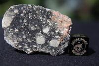 NWA 11266 Official Lunar Feldspathic Regolith Breccia Meteorite 11.1 gram frag