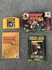 Donkey Kong 64 Video Game Nintendo 64