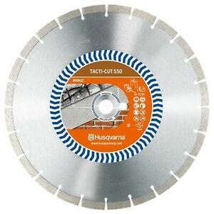 "HUSQVARNA TACTI-CUT S50 Diamond Blade - (Pack of 6) 12"" 300mmx20mm"