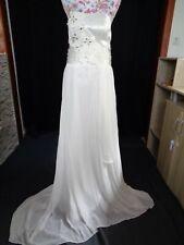 (7)Edles Damen Braut Standesamt Abend Kleid GR: 40
