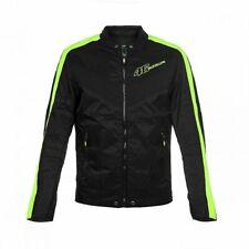 VR46 Official Valentino Rossi Black Man's Biker Jacket-VRMJK 263604 SIZE X-LARGE
