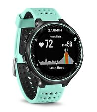 Garmin Forerunner 235 HRM Sports Running - Black/Frost Blue brand new sealed