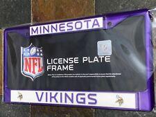1 Minnesota Vikings Purple Metal License Plate Frame