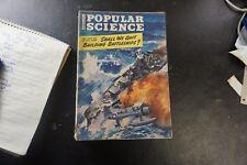 Popular Science Monthly Magazine April 1943 Battleships