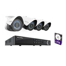 LaView LVW938V4BT-T1 4Ch 1TB HDD Security System with 4 1080P Cameras