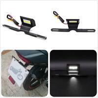 CNC Universal Aluminum Tail Tidy Fender Eliminator LED Brake White Light License