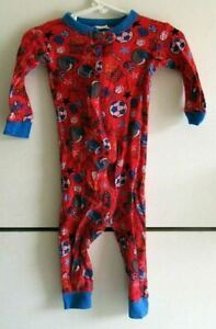 Baby Boys One Piece Gerber Red 18 Months Long Sleeve Sports
