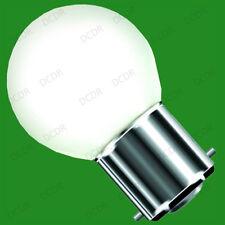 1w GOLF LED B22 Bajo Consumo Luz Bombilla Various Color & Multicolor