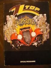 ZZ Top Metallica Bon Jovi 1985 Donnington Tour Program