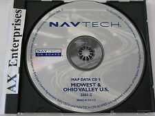 Range Rover Mini BMW Navigation CD 0115 Edition 2001-2 Map 5 Midwest Ohio Valley