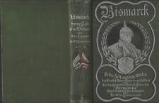 Bismarck Sena Beit und Fein mirken Georg Koeppen dr GH Zimmerman hardcover 1899