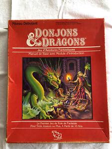 Jeu Donjons & Dragons TSR Hobbies 1982 - RARE