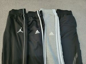 Lot of 4 Nike Adidas and Arena Athletic Pants Size 10-12