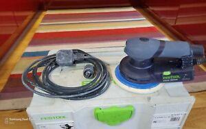 Festool ETS EC 150/5 EQ-Plus GB 240V Eccentric Sander In Systainer T-Loc