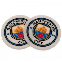 Manchester City Fc Man 2 Pack Mug Coaster Coasters Gift Set